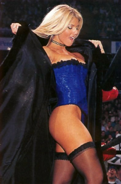 WWE Torrie Wilson yeah