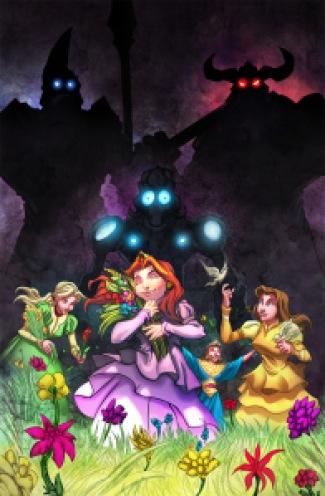 Image result for robots vs princesses #1